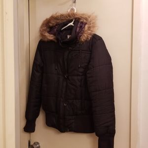 "No Boundaries Puffer Jacket ""Large Junior"" Fits M"